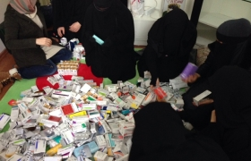 Medicine Syria for Martyrs Spouses