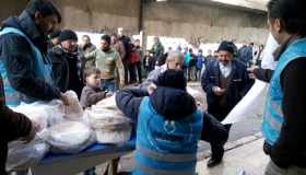 Provisions delivered to 4500 families in Aleppo