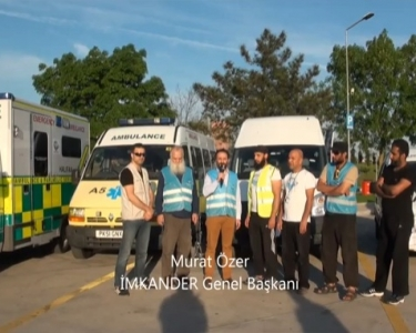 Ambulances to Syria