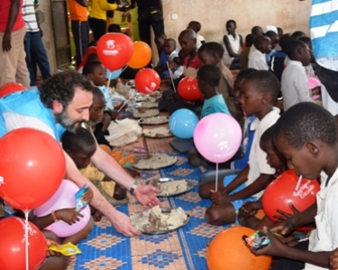 Let's share our foods with African Orphans